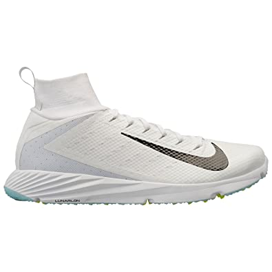 new product 6221b 85aed Amazon.com   Nike Vapor Untouchable Speed Turf 2 Mens 917169-100 Size 18  White Black   Football