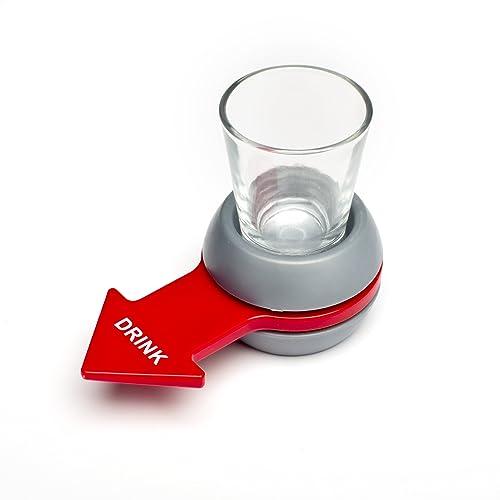 Shot spinner - El juego de la botella versión actualizada - Juegos para beber