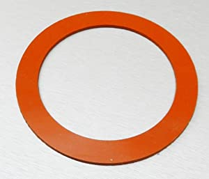 """SILICONE RUBBER GASKET FOR 5"""" VACUUM PERFORATED FLASKS JEWELRY LOST WAX CASTINGS (E2)"""