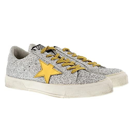 Sneakers for Women, White, Leather, 2017, 8.5 Golden Goose