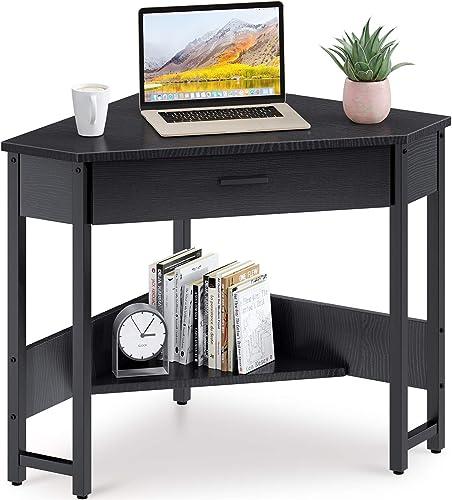 ODK Corner Desk Triangle Computer Desk Corner Vanity