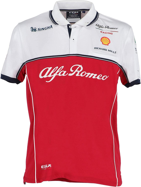 FCA camiseta Alfa Romeo Racing F1 Polo tejido técnico talla L ...