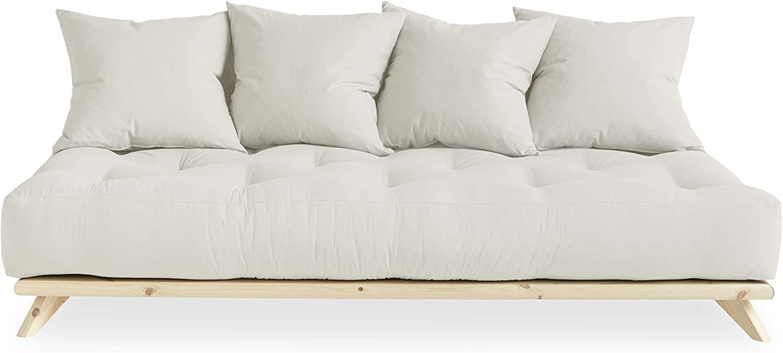 KARUP DESIGN Senza Futon Sofa Bed Easily converts into Day Bed   Natural Mattress Color