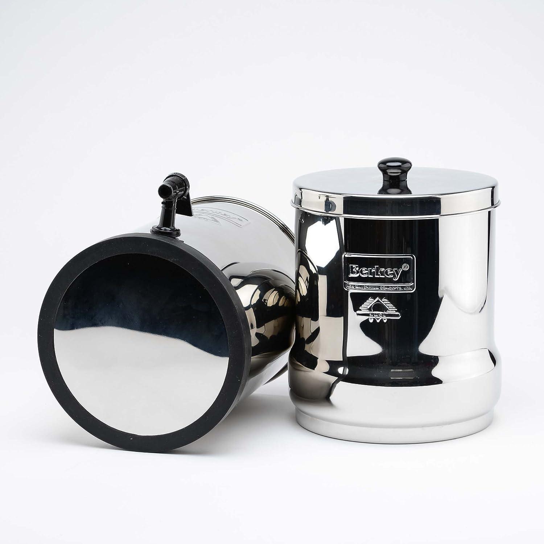 Big Berkey BK4X2 Countertop Water Filter System with 2 Black Berkey ...