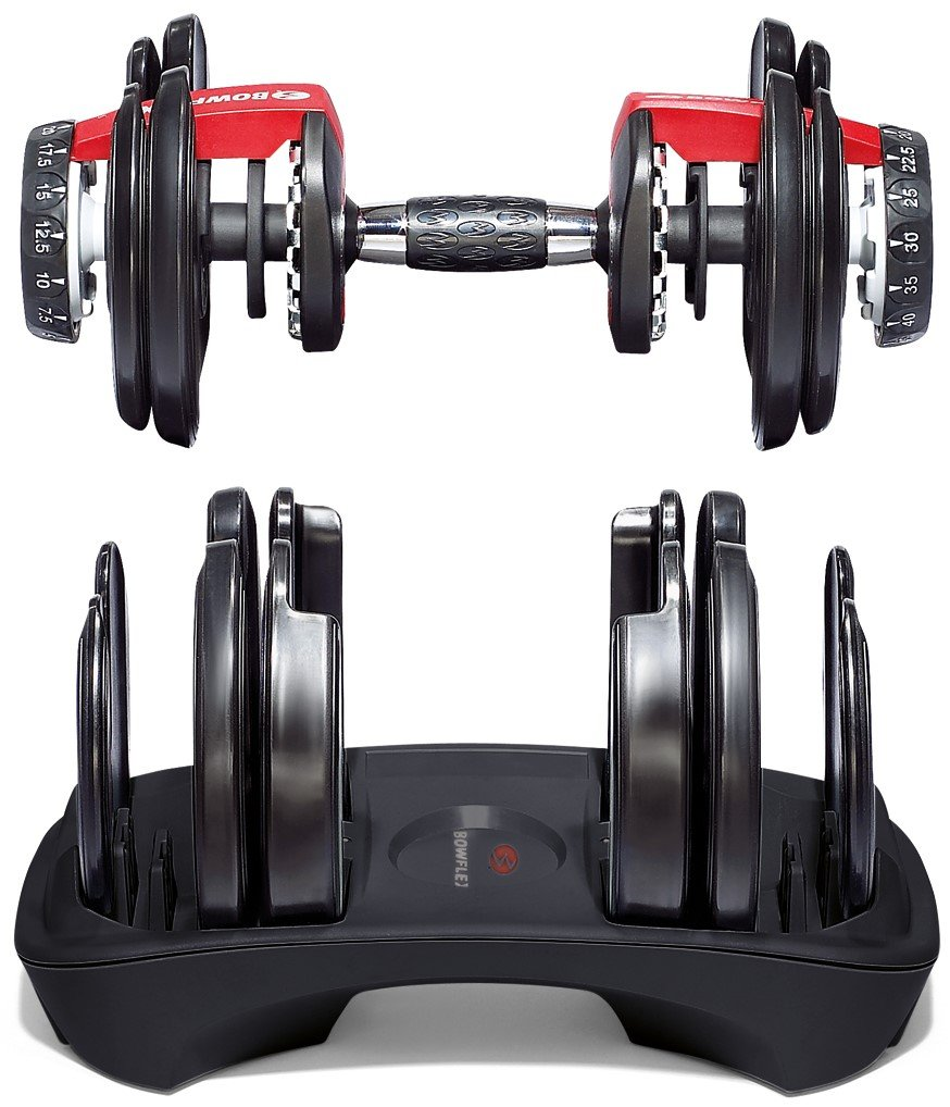 Best Adjustable Dumbbells Bowflex SelectTech 552