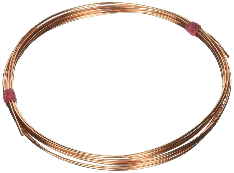 Amazon.com: Beadaholique 16 Gauge Solid Copper Wire Round Dead Soft ...