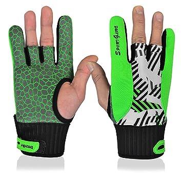 539c79a34ff73a OHF S Ericsson Damen und Herren Bowling Rutschfeste Handschuhe Linke und  Rechte Hand Handschuhe 1 Paar