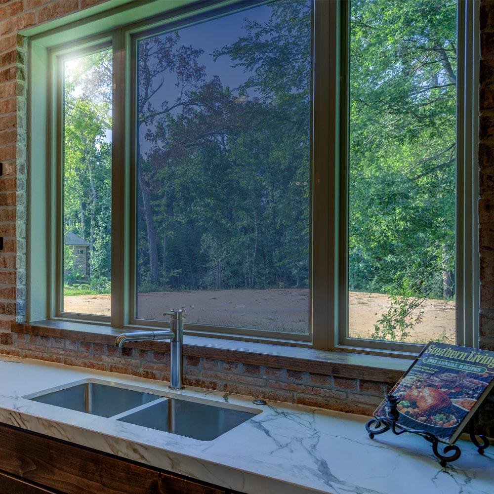 Protector de Pantalla Reflectante para Ventana 45 x 200 cm Efecto Espejo Bridgetown
