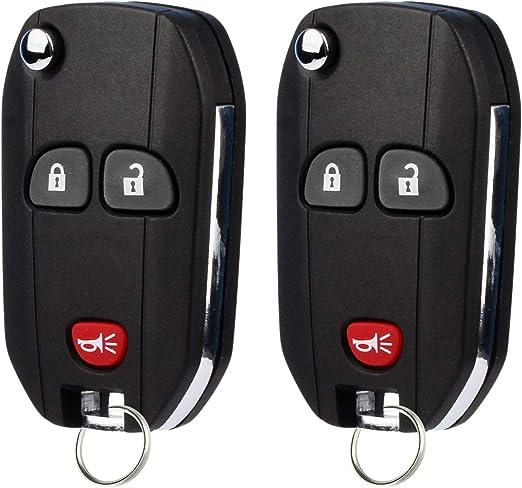 Remote For 2007 2008 2009 2010 2011 2012 2013 GMC Sierra Flip Car Key Fob 420