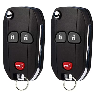 2 Keyless Entry Remote Car Key Fob Clicker Control for 2009-2016 Buick Enclave