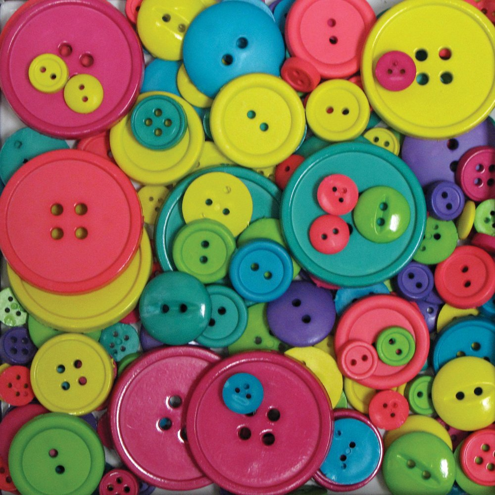 Rainbow Blumenthal Lansing Company Favorite Findings 3-1//2-Ounce Big Bag of Buttons