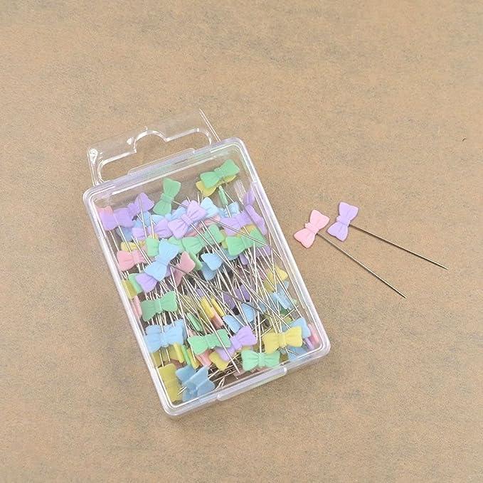 SODIAL 100 unids/bolsa pines colores mezclados coser patchwork ...