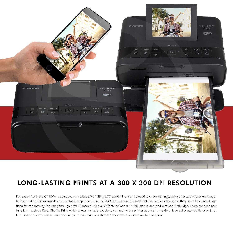 Amazon.com: Canon SELPHY CP1300 - Impresora fotográfica ...