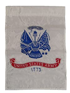 12 x 18 United States Army Garden Flag Nylon Embroidered US Military New