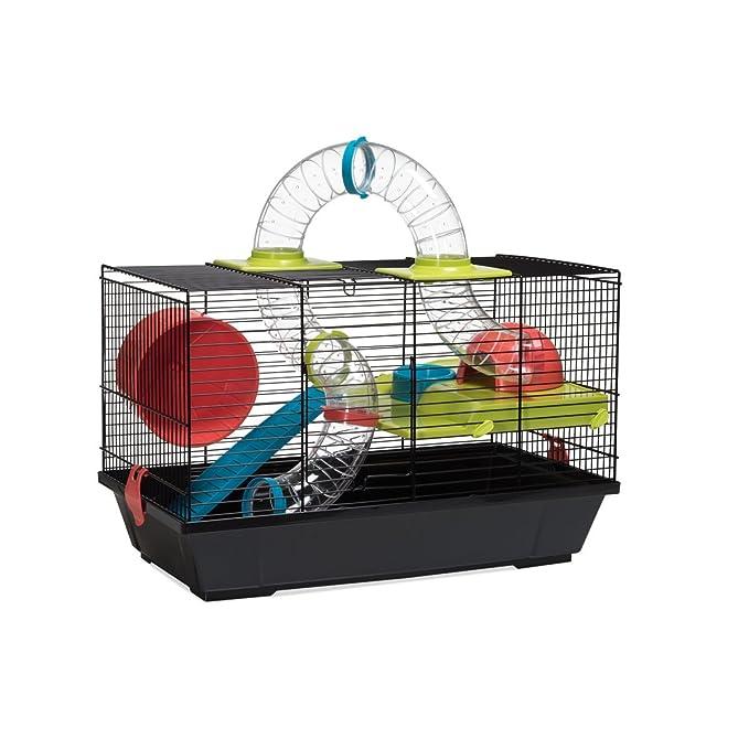 VOLTREGA Jaula Hamster Vol. 938 Doble 1 Unidad 500 g: Amazon.es ...