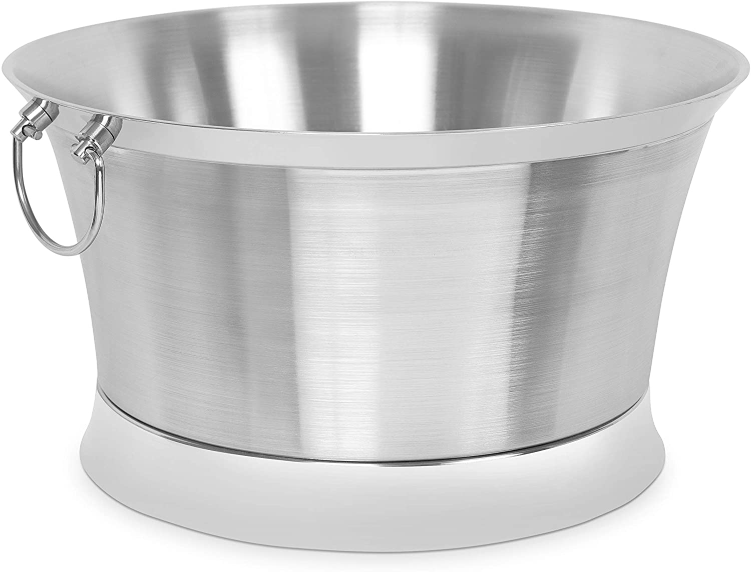 Birdrock Home Double Wall Round Beverage Tub Stainless Steel Large Amazon Ca Home Kitchen
