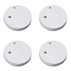 Kidde Smoke Detector Alarm   Battery Operated   Model # i9050 Pack of 4