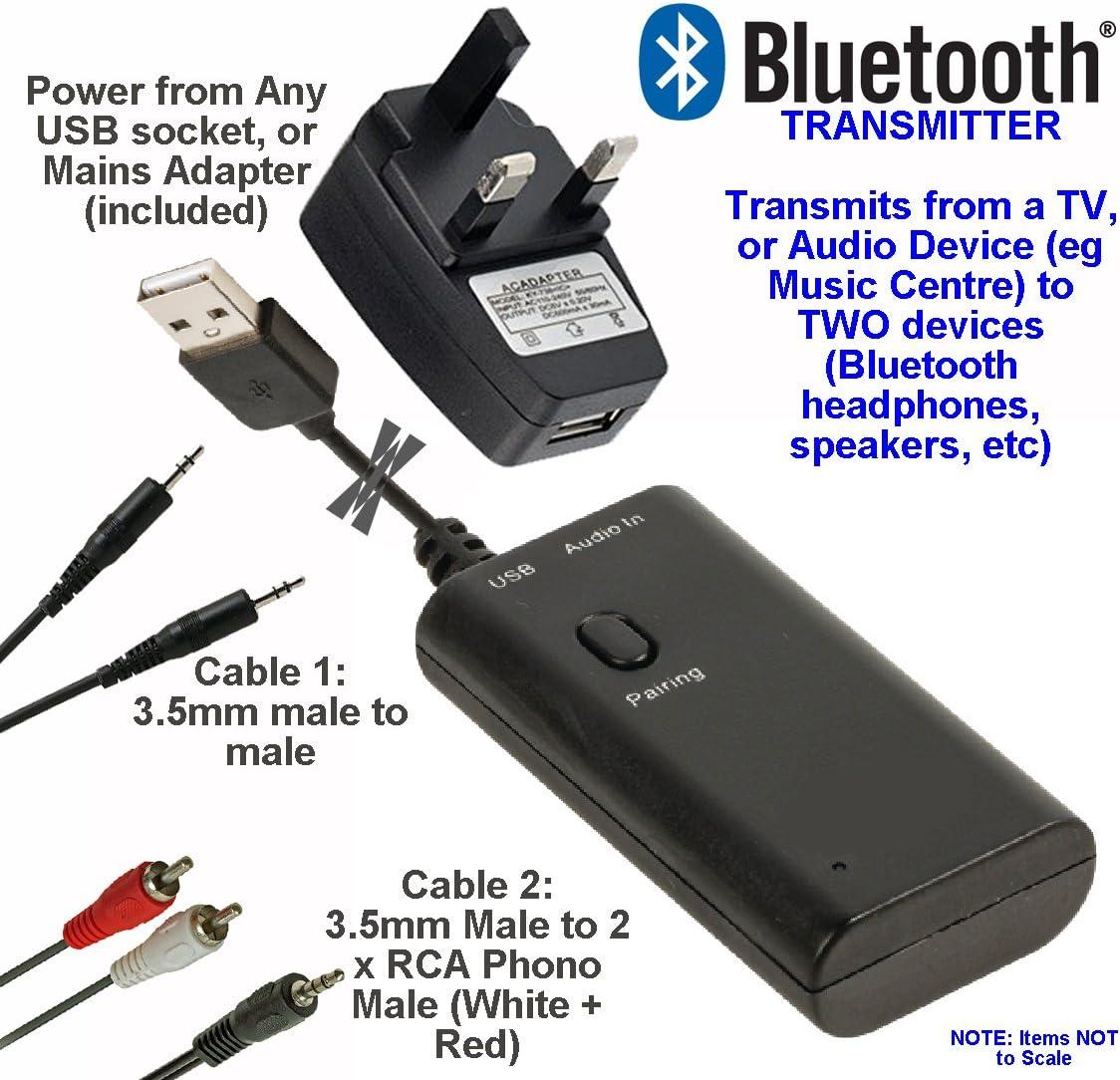 send audio to 2 bluetooth speakers