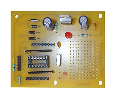 Santek do it yourself electronic projects pic board with 14 pin santek do it yourself electronic projects pic board with 14 pin microcontroller 41 solutioingenieria Images