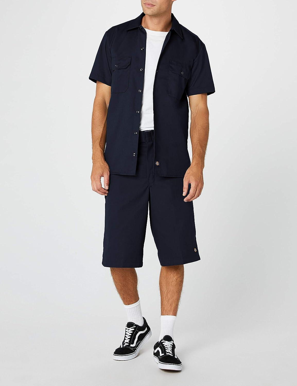 38 Dickies Mens Multi-Pocket Work Shorts 13 33 cm - Blue