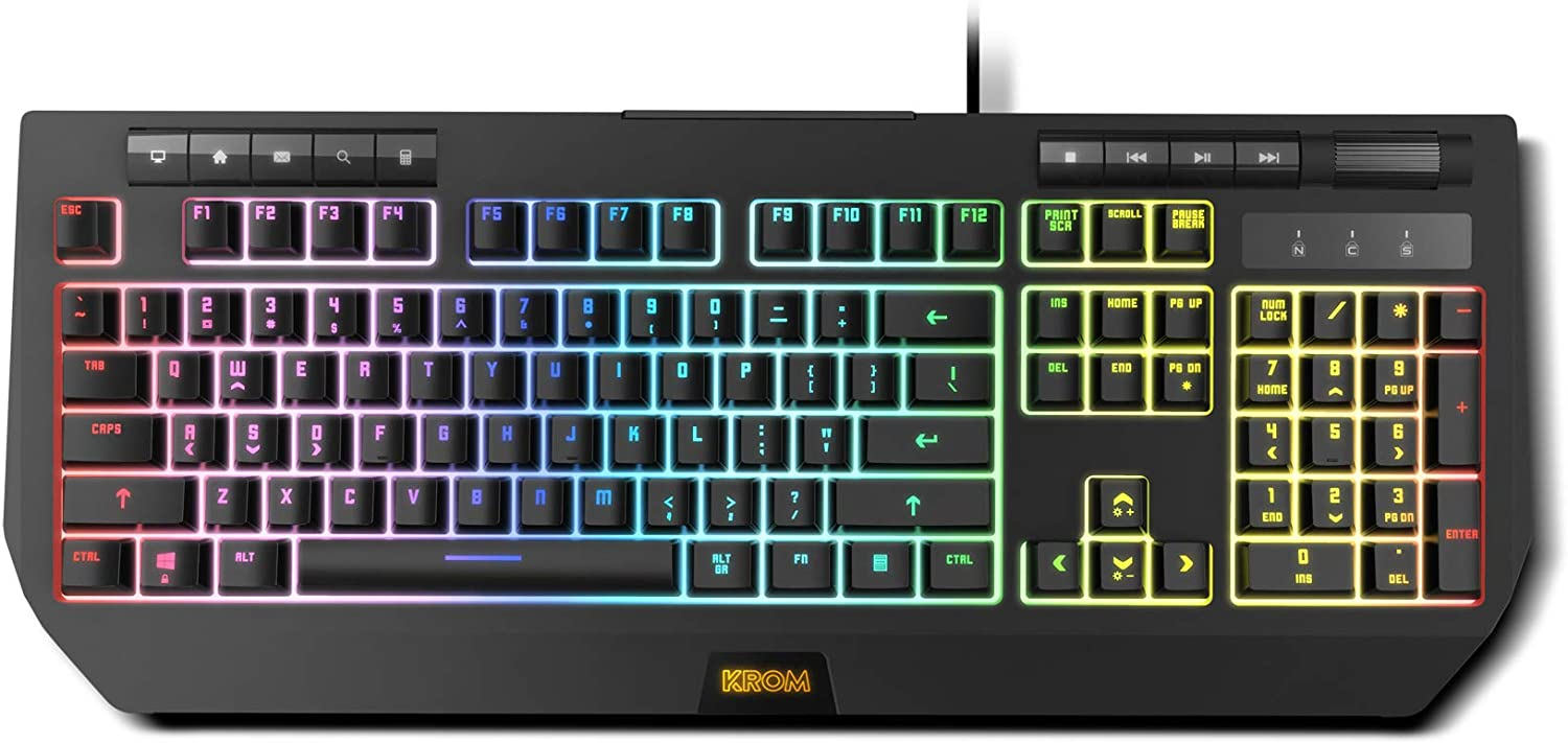 Krom Kuma - NXKROMKUMA - Teclado Gaming, RGB, Switches Híbridos, Layout ES