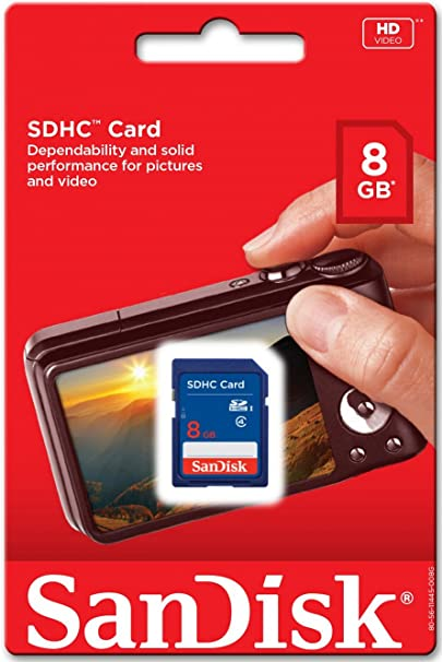 6 Piece SDSDB-008G Sandisk 8GB SD SDHC memory card for Stealth Cam G45NG G42NG G42C G34 G30