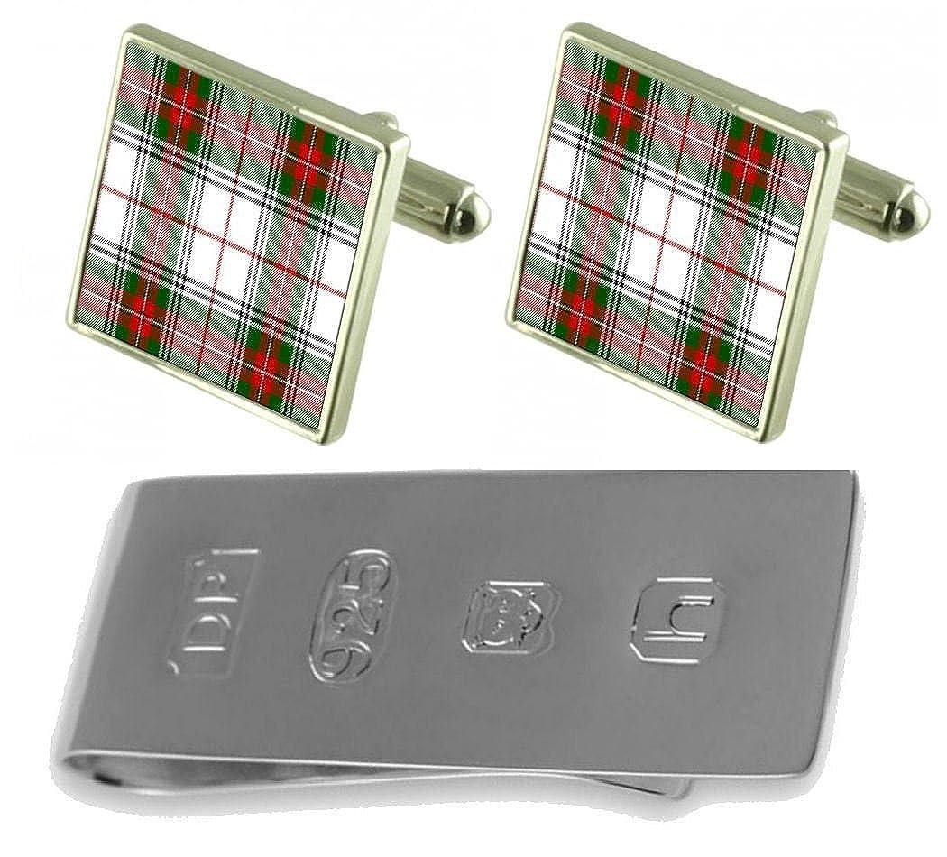 Select Gifts Tartan Clan Stuart2 Cufflinks /& James Bond Money Clip
