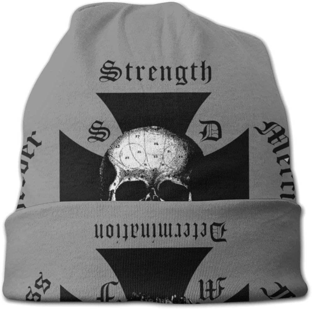 AshleySSnavely Slayer Band Unisex Adult Knit Hats Beanie Hat Winter Warm Printing Skull Cap Black