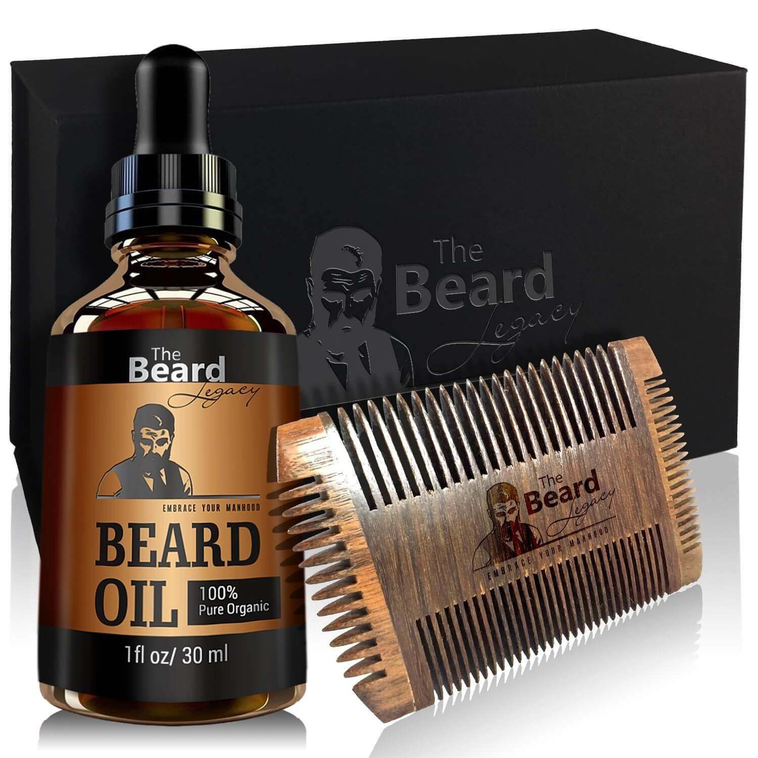 premium beard oil unscented for men made in usa moisturizes skin softens grow. Black Bedroom Furniture Sets. Home Design Ideas