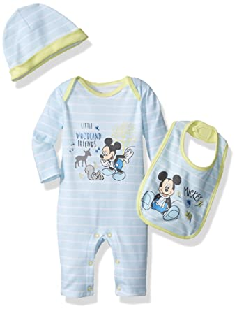 211ff037db9d Disney Baby-Boys Mickey Mouse Coverall
