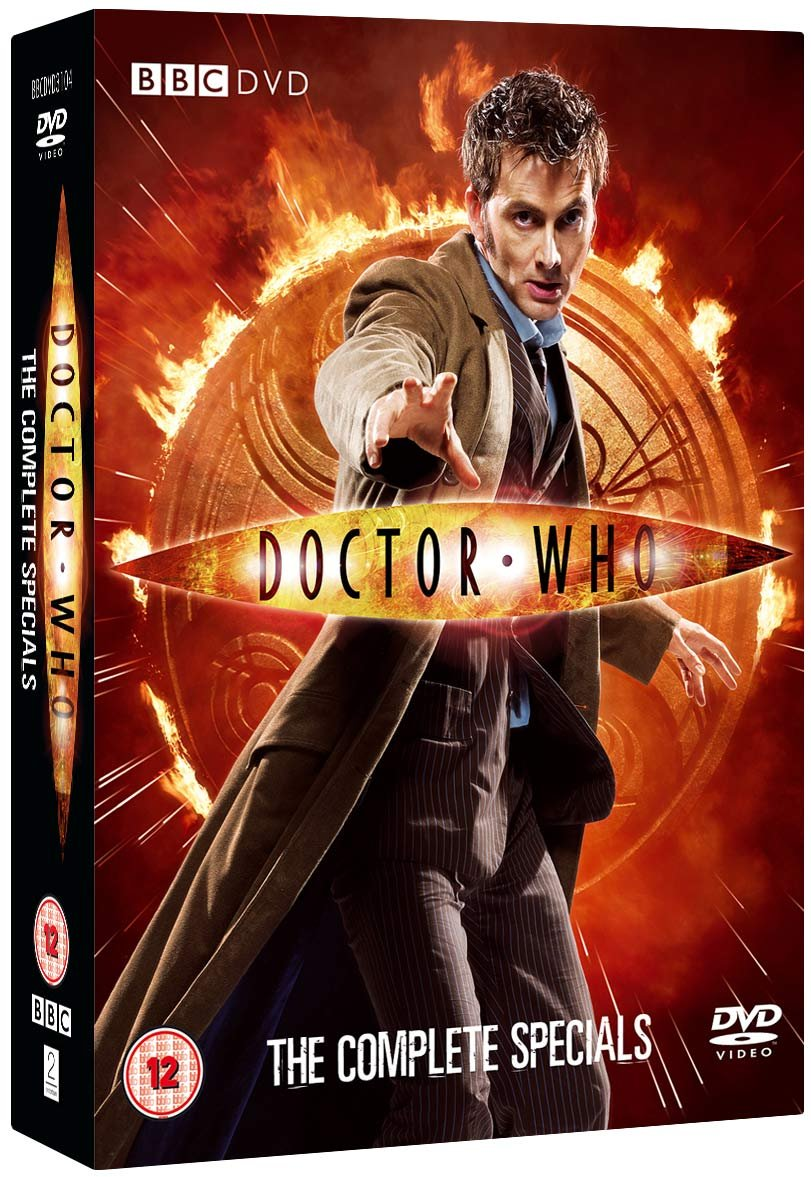 Doctor Who - The Complete Specials Collection 5 DVDs UK