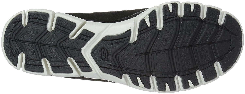 Skechers Women's Gratis-Cozy N' Carefree Sneaker B07CN3N4VZ 7 B(M) US|Black White