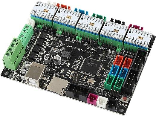 B Baosity Nueva Tarjeta De Control De Impresora 3D MKS SGEN L V1.0 ...