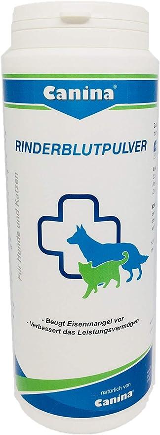Canina Polvo de sangre de vacuno para perros y gatos, 1 unidad (1 x 250 g)