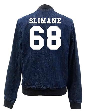 Vest Slimane Certified Jeans Girls 68 Bomber Freak qx8xEZaw