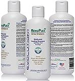 Medicated Dog Mange Shampoo. Antifungal RenuPlex Extra Strength Mange Shampoo for Dogs Eliminates Mange, Dog Mites, & Scabies. All Natural Antifungal dog shampoo. Unconditional Guarantee. Made in USA
