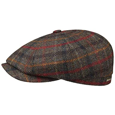 00830c29 Stetson Hatteras Wool Winter Flat Cap Men Olive 6 7/8 at Amazon Men's  Clothing store: