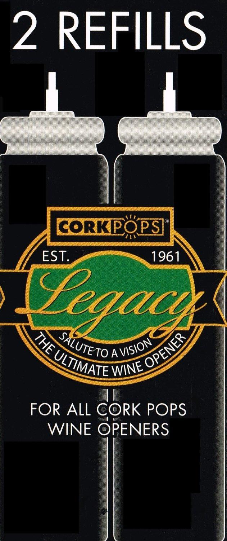 Cork Pops Refill Cartridges - Set of 8