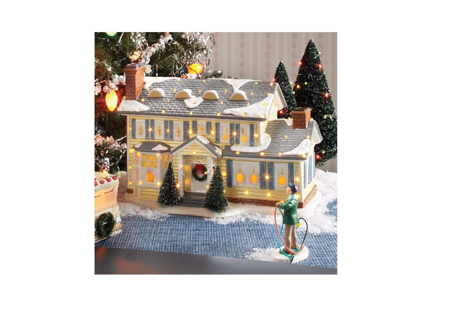 Department 56 National Lampoon's Christmas Vacation ''The Griswold Holiday House'' Lighted Building by Department 56 (Image #2)