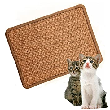 Cat Scratch Mat,Scratcher And Resting Post Cat Sisal Pad,Protection Play  Pad By