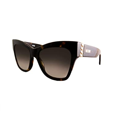 Gafas de Sol Moschino MOS011/S DARK HAVANA/GREY GOLD SHADED ...