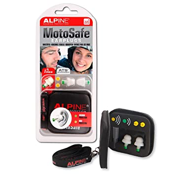 Alpine Moto Safe - Sistema de protección de oídos