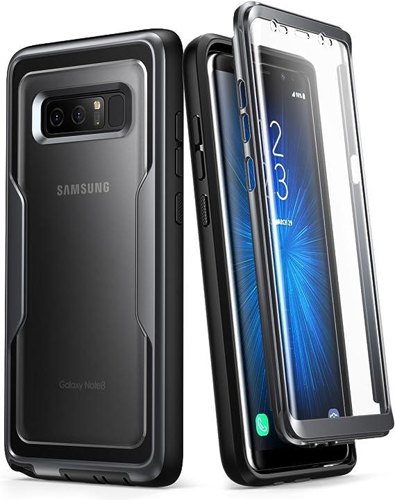 i-Blason Funda Galaxy Note 8 [Series Magma] 360 Grados Carcasa Completa con Protector de Pantalla Integrado (Negro): Amazon.es: Electrónica
