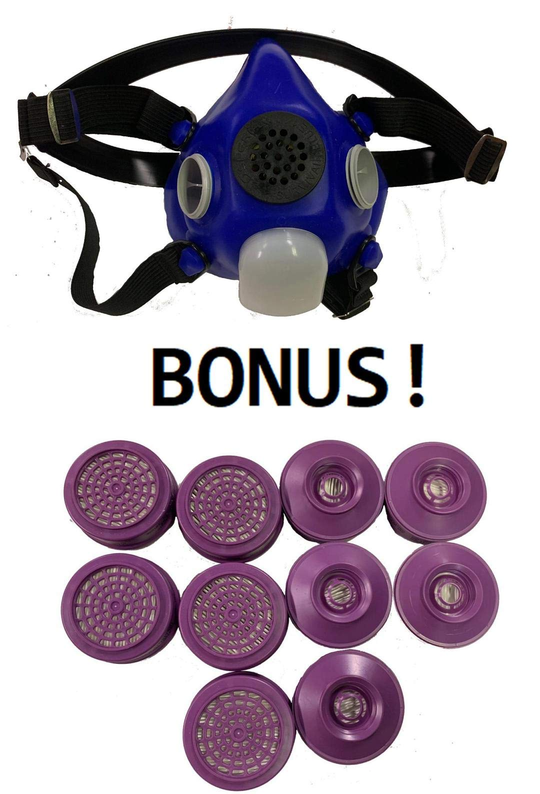 Honeywell P100 Filter For Half Mask Full Face Mask Respirators (10 Each Per Box)