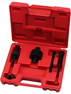 12Pcs Automotive Power Steering Pump Alternator Pulley Remover and Installer Kit with Storage Case for GM Chrysler Ford Car Truck Ejoyous Pulley Puller Remover