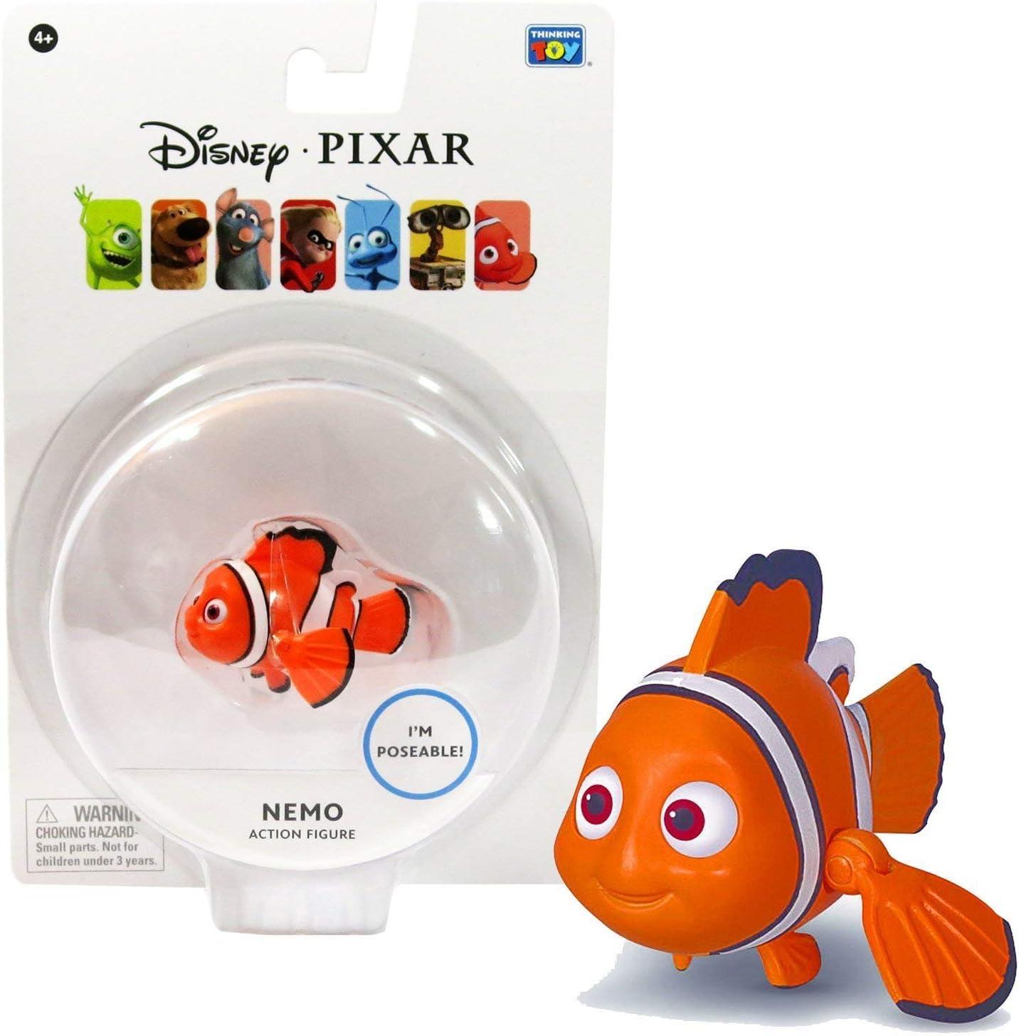 Disney Pixar ~ Nemo 3.75 Poseable Action Figure