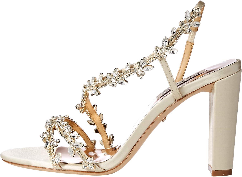 Badgley Mischka Womens Felda Heeled Sandal