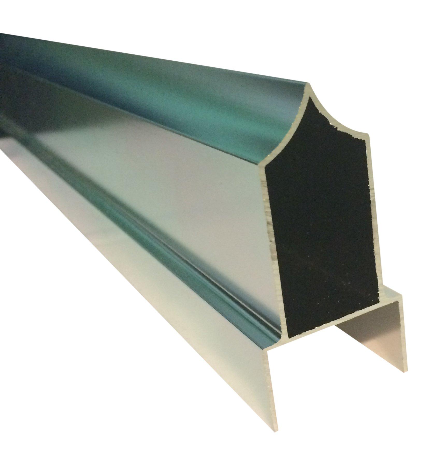 Sanymetal 13358 Anti-grip Headrail, 96''