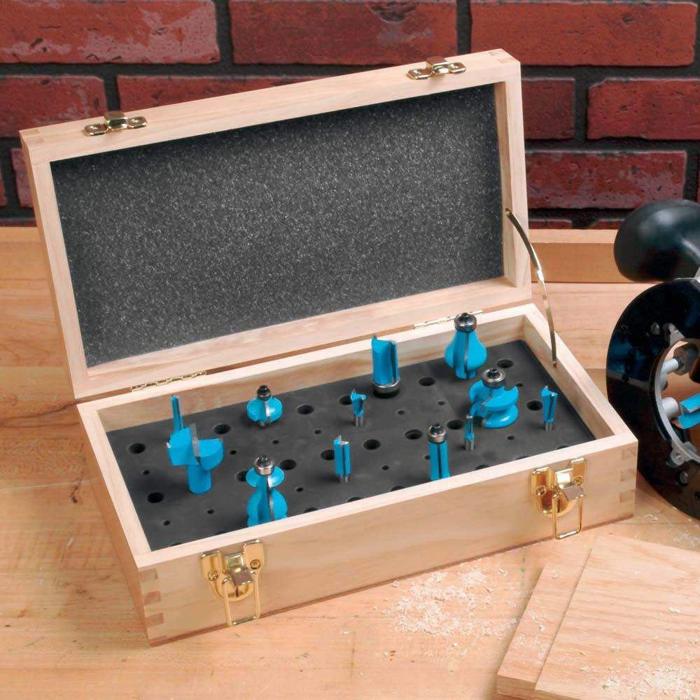 Small Router Bit Case