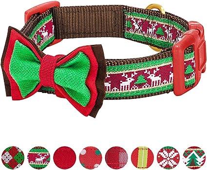 Holiday Dog Collar Thanksgiving Dog Collar Fall collar Christmas Dog Collar
